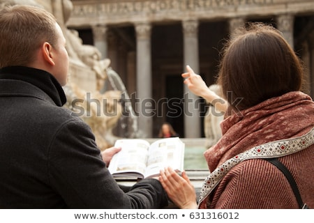 tour guide girl in Rome Stock photo © adrenalina