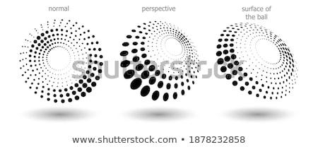 soyut · yarım · ton · perspektif · stil · doku · dijital - stok fotoğraf © sarts