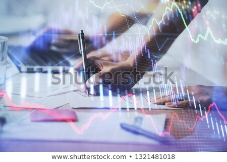 close up of businessman hand with bitcoins stock photo © dolgachov