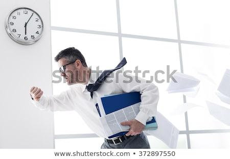 マネージャ オフィス 遅い 時間 市 ライト ストックフォト © Minervastock