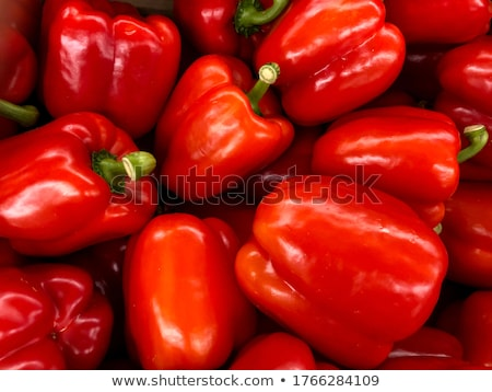 Spell it out capsicum Stock photo © bluering