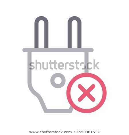 No Plugin Vector Icon Stock photo © smoki