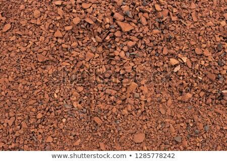 Rosso mattone polvere costruzione abstract bellezza Foto d'archivio © bdspn