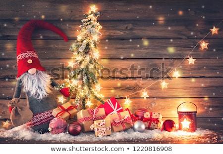 Noël · isolé · amusement - photo stock © ori-artiste