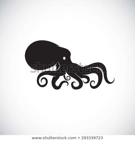 mérges · rajz · hal · lény · illusztráció · nagy - stock fotó © cthoman