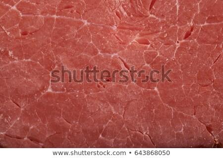 свинина мяса текстуры сырой частей продовольствие Сток-фото © grafvision