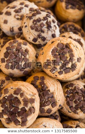 traditional maltese chocolate chip cookies stock photo © boggy