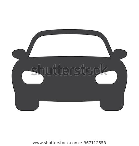 Bumper cars icon Stock photo © angelp