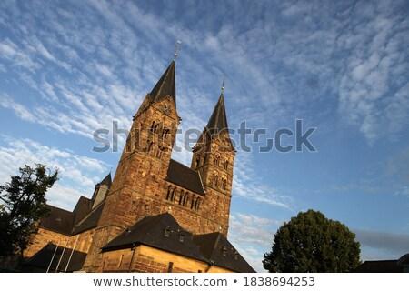 Kathedraal Duitsland laat stijl stad zomer Stockfoto © borisb17