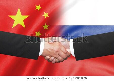 China Russia Agreement Stock photo © Lightsource