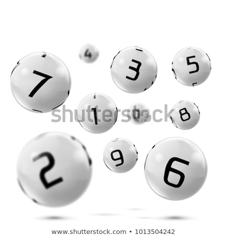 Billiard Balls With Numbers And Table Set Vector Stock photo © pikepicture