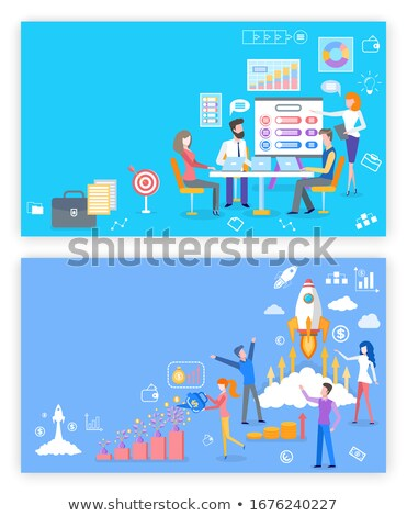 Proposal and Tools to Grow Business Online Page Stock photo © robuart