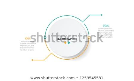 Iş veri pazar grafik iki seçenek Stok fotoğraf © kyryloff