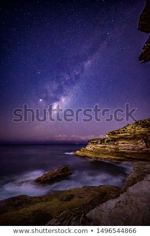 Mleczny sposób gwiazdki wschodniej Sydney Australia Zdjęcia stock © lovleah