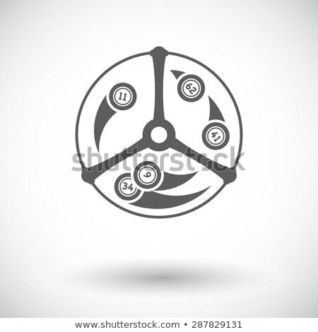 Vektör ikon yalıtılmış beyaz düzenlenebilir eps Stok fotoğraf © smoki