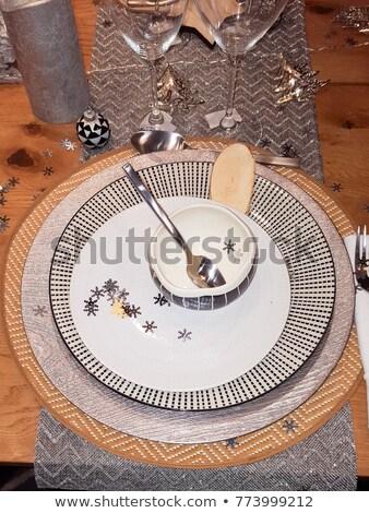 Feestelijk tabel bruiloft banket ingericht composities Stockfoto © ruslanshramko
