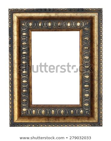 древесины Председатель золото фильма рук Живопись Сток-фото © shamtor