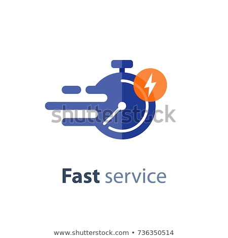 Snel dienst snel diensten gastvrijheid bel Stockfoto © Lightsource