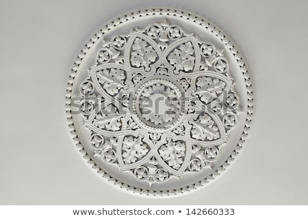 Molding on ceiling detail, interior design and architectural abs Stock photo © Anneleven