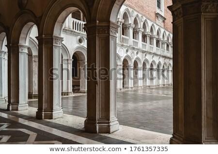 Tarihsel Bina saray Venedik perspektif Stok fotoğraf © artjazz