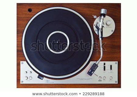 Vinyl On Vintage Turntable  Stock photo © albund