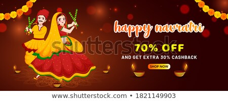 Man and Woman on Shopping, Big Discount on Sale Stock photo © robuart