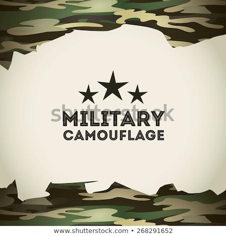 camouflage background military stars Stock photo © Olena