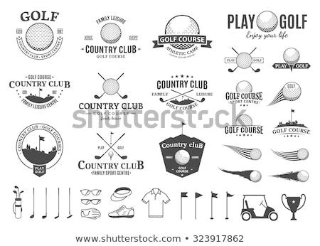гольф стране клуба отдыха спорт баннер Сток-фото © pikepicture