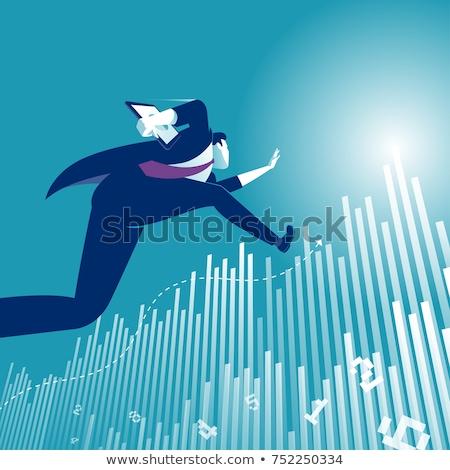 Profit growth vector concept metaphor Stock photo © RAStudio