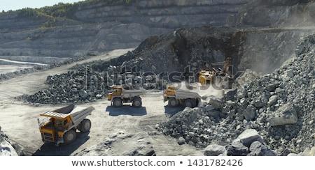 Kő mészkő függőleges kép tájkép ipar Stock fotó © deyangeorgiev