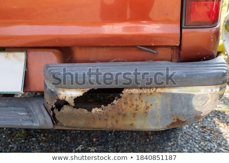 rusty junk bumpers junkyard scrap salvage rusting abandoned Stock photo © jeremywhat