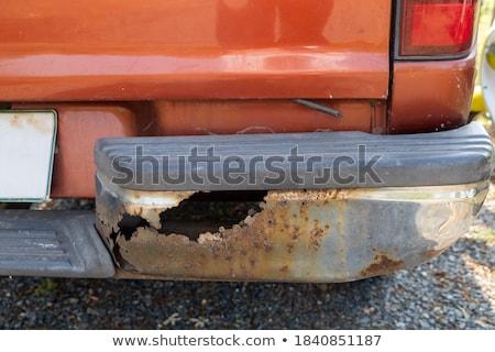 rusty junk bumpers junkyard scrap salvage rusting abandoned Stock photo © jeremywhat