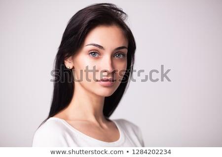 クローズアップ ファッション 肖像 かわいい 女性 カラフル ストックフォト © HASLOO