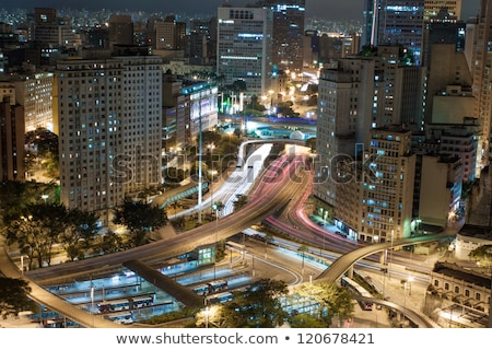 vacío · oficina · horizonte · Sao · Paulo · Brasil · arquitectónico - foto stock © spectral