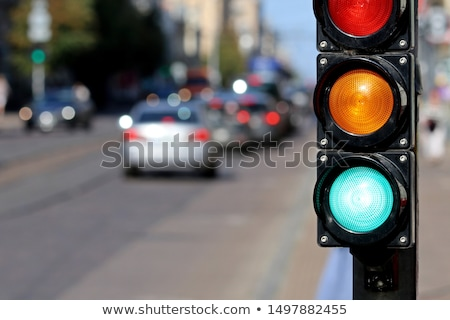 Traffic signalization Stock photo © stevanovicigor