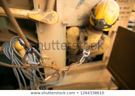 Construction Worker Trapped Stock photo © lisafx