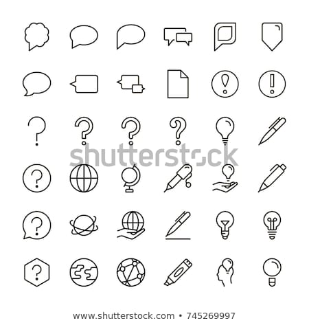 question mark sign with arrows stock photo © marinini