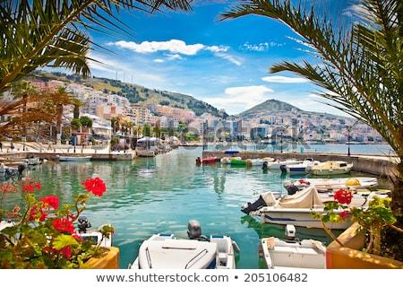 Albania ciudad arquitectura turísticos vista Resort Foto stock © travelphotography