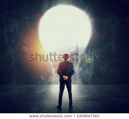 Big aspirations Stock photo © silent47