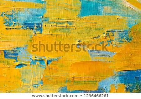 élénk festőecsetek játékos háttér művészet oktatás Stock fotó © tannjuska