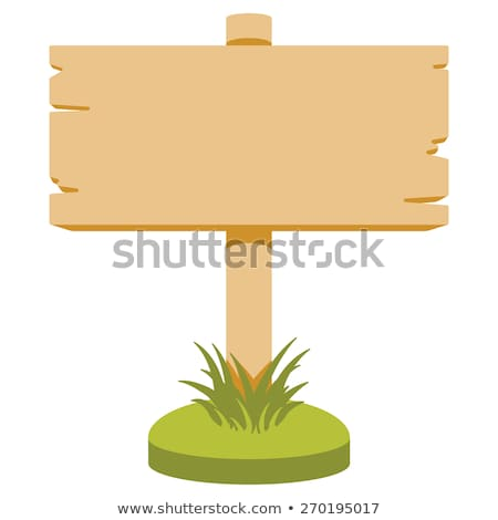 colorful empty wooden signs Stock photo © Zerbor