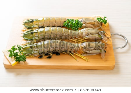 shrimps tails stock photo © smuki