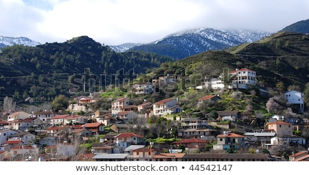 tipik · merkezi · avrupa · kırsal · köy - stok fotoğraf © kirill_m