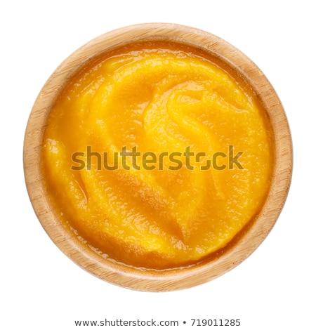 bowl of pumpkin puree Stock photo © M-studio