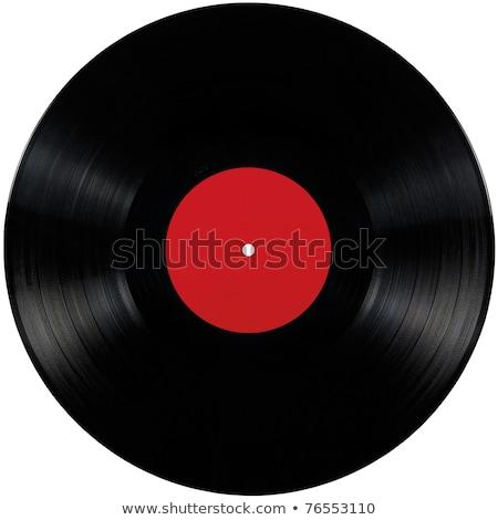 nero · vinile · record · lp · album · disco - foto d'archivio © artjazz