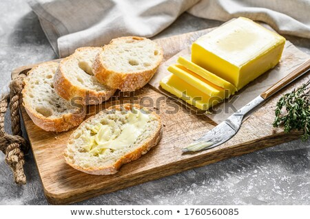 baguette with butter Stock photo © jirkaejc