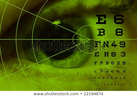 test eyes pathology stock photo © alexonline