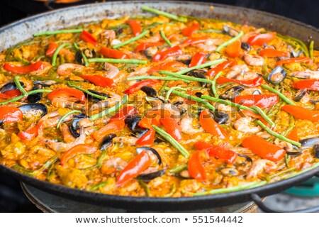 Típico espanol grande pan calle mercado Foto stock © neirfy