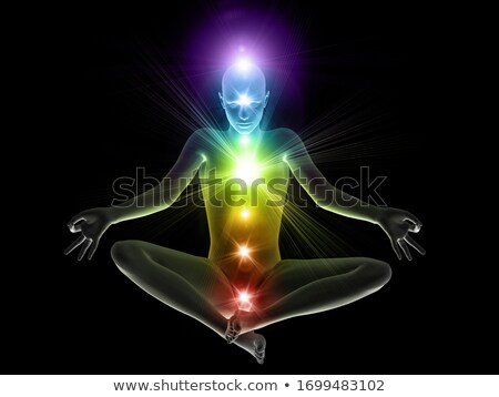 Chakras - 3D render Stock photo © Elenarts