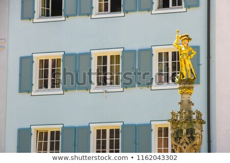 Stock photo: statue of bishop in freiburg